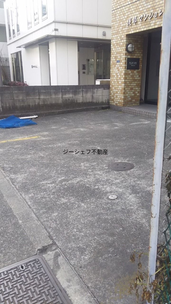 駐車場部分