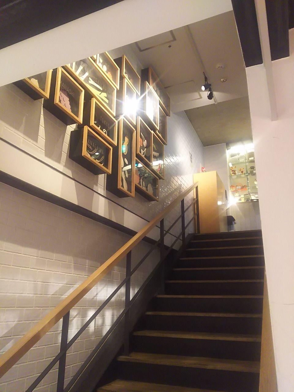 のものキッチンへあがる階段です