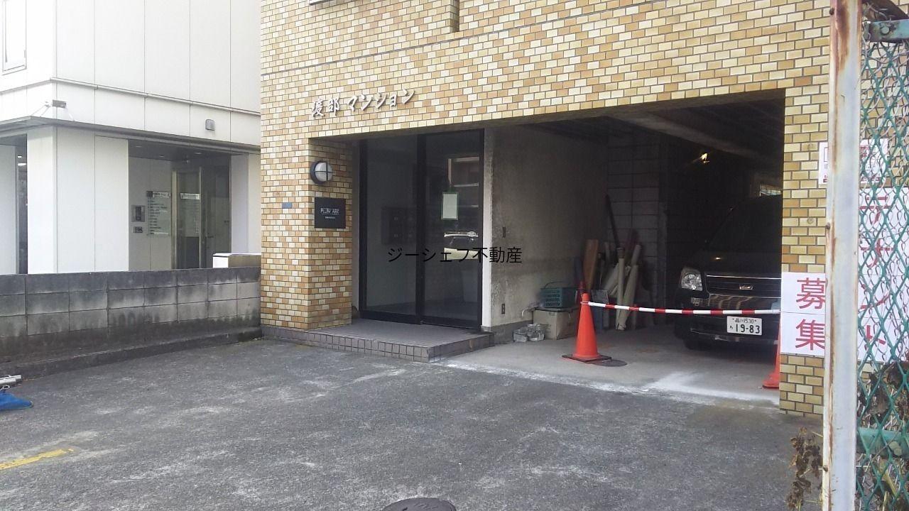 プラムアーク品川1F店舗間口です