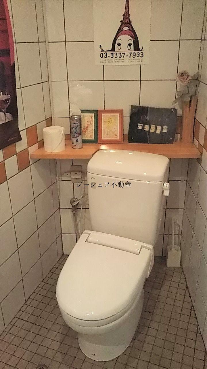 清掃が行き届いており、きれいなトイレです。