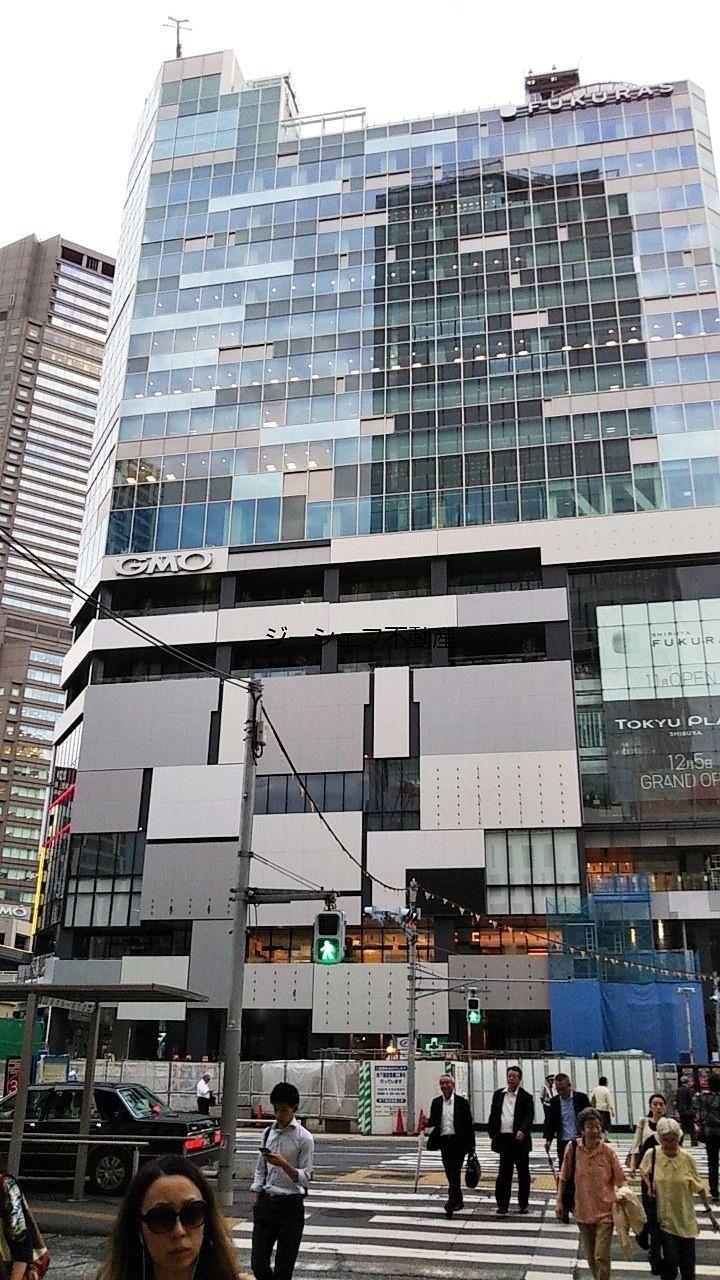 渋谷フクラス(旧東急プラザ)外観