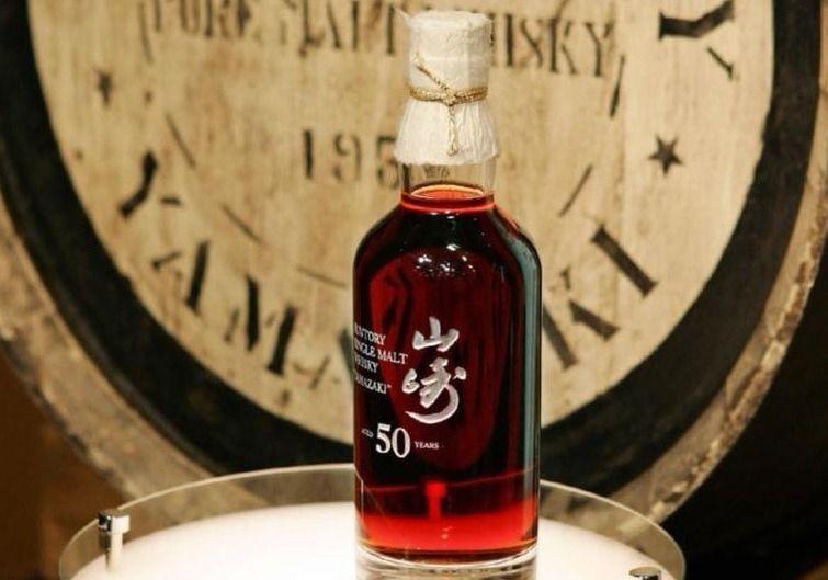 3250万円で落札されたシングルモルトウイスキー「山崎50年」