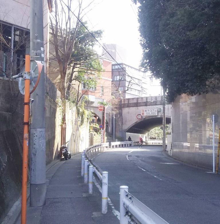 とても雰囲気のある通りです。